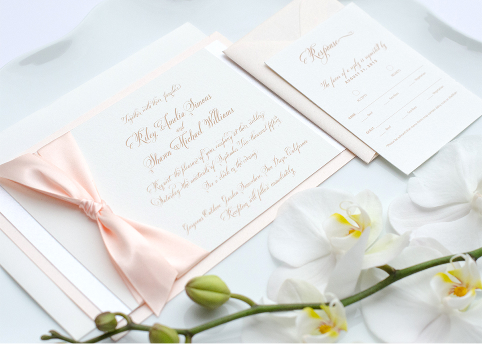 Charming Invitation Suite by Simply Sleek Designs