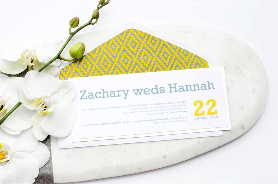 Dashing Invitation Suite by Simply Sleek Designs