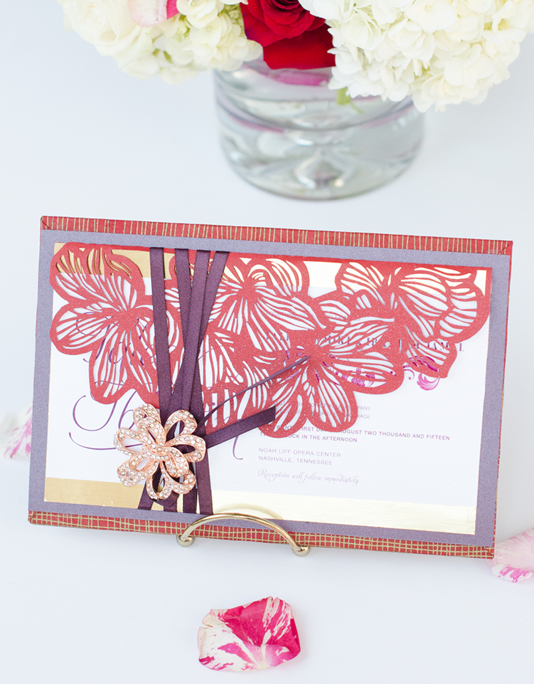 Custom Invitation Suite by Simply Sleek Designs