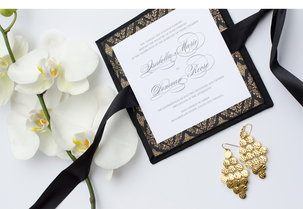 Isabella Invitation Suite by Simply Sleek Designs