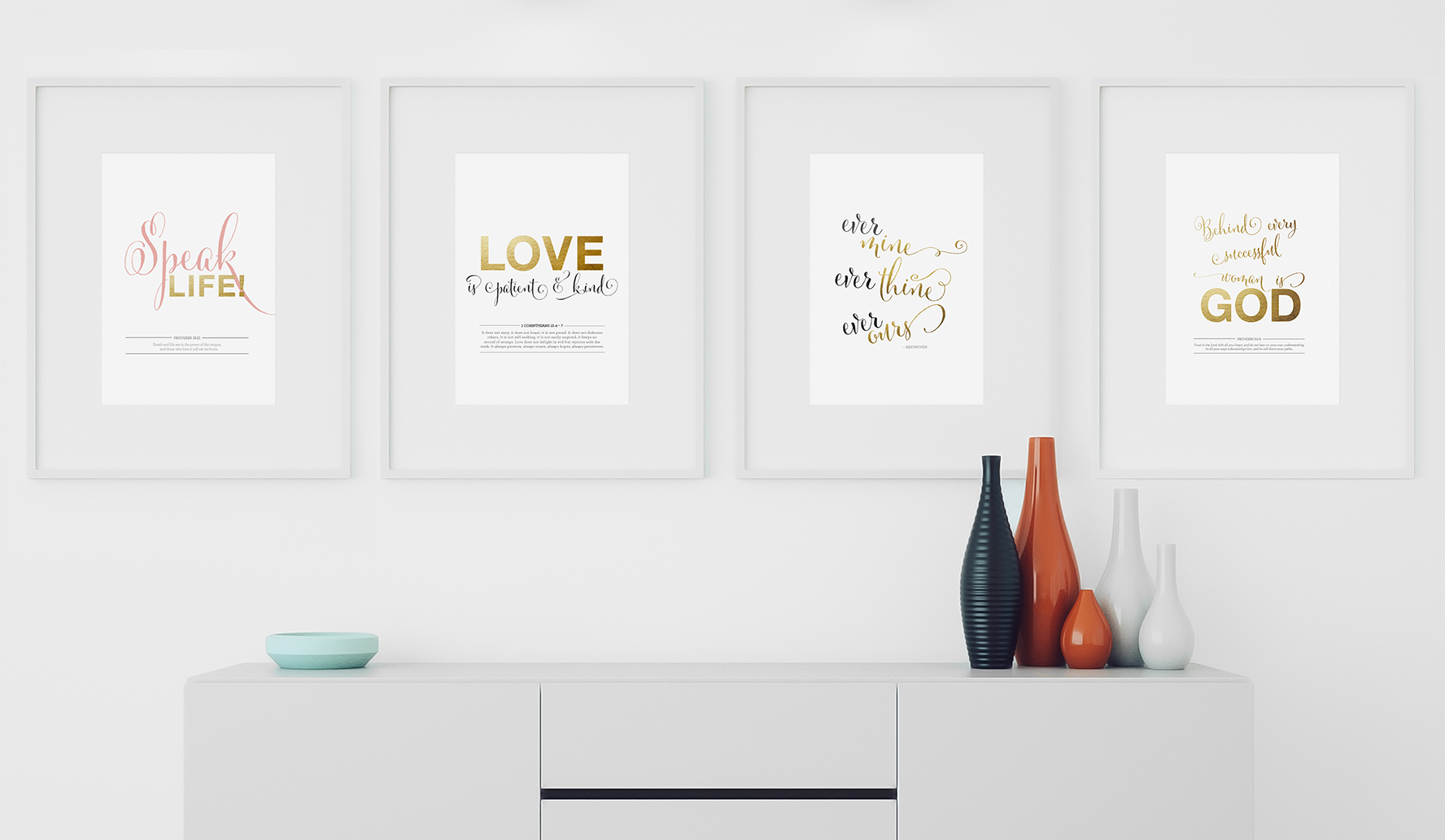 Motivational + Inspirational Art Prints